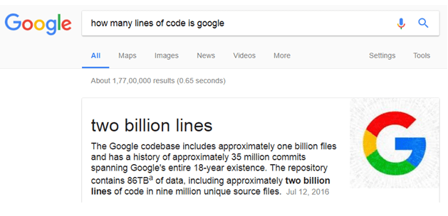 amazing facts google