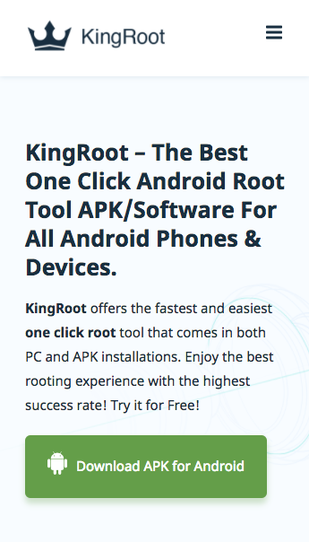 How to root Android device without computer