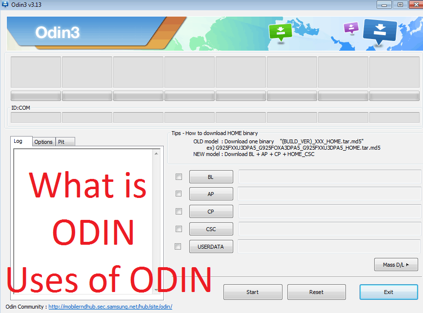 What is ODIN (firmware flashing Software) and How to Use it